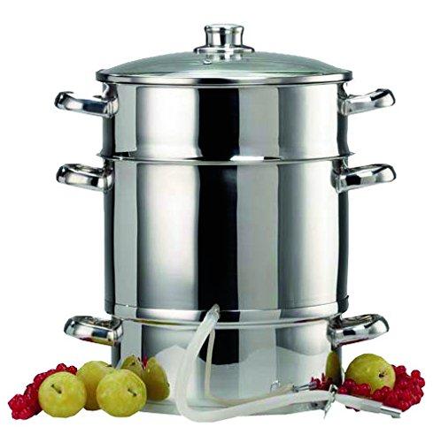 Le Parfait - 2073009 - Extracteur de Jus Acier Inox Gris - 26 cm