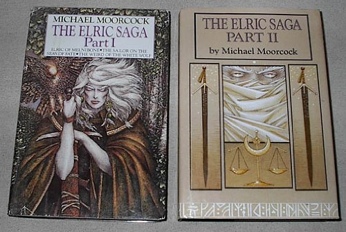 The Elric Saga: Part I & II: Part I (Elric of Melnibone; The Sailor on the Seas of Fate; The Weird of the White Wolf)) & Part II (The Vanishing Tower; The Bane of the Black Sword; Stormbringer) (Elric Saga Part Ii compare prices)