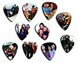 Red Hot Chili Peppers Silver Edition Edition Set Of 10 Loose Guitar Picks