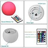Rechargeable LED Round Light 4 Inch Waterproof Color Changing Ball for Home Room Party Decor Lamp - Prosshop