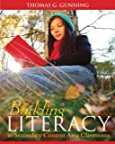 img - for Building Literacy in Secondary Content Area Classrooms book / textbook / text book