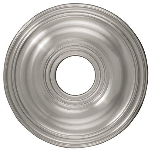 Livex Lighting 8217-91 Ceiling Medallion, Brushed Nickel (Brushed Nickel Ceiling Medallion compare prices)