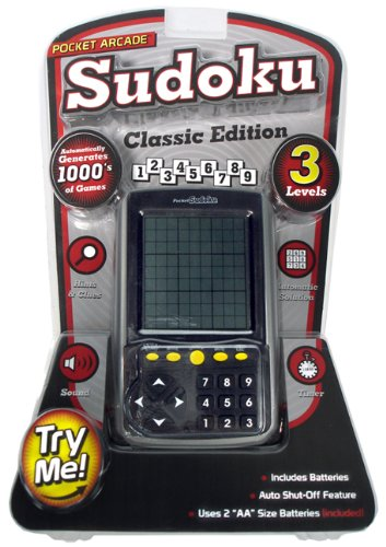 Cheap Westminster Sudoku Hand Held Electronic Game Classic Edition (B0039M01FU)