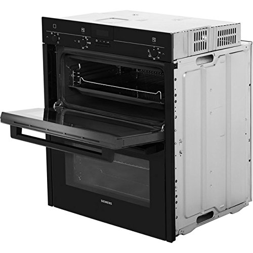 Siemens IQ-100 HB13NB621B Built Under Double Oven - Black. It Will Perfeclty Look Great Built Into Your Kitchen