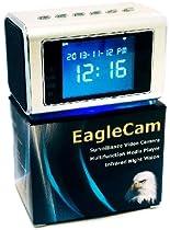 EagleCam: Top Selling Spy Camera Mini Clock Radio Hidden DVR; Infrared Night vision; Large-Print Manual