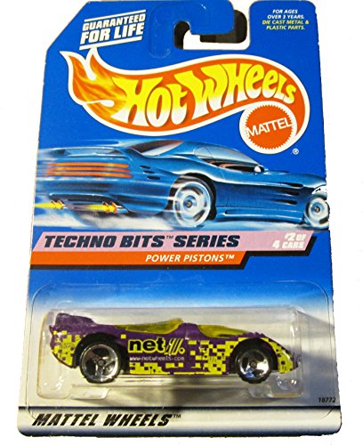 Hot Wheels Techno Bits Series Power Piston #690 - 1