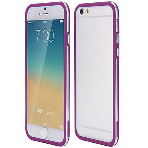 Casotec Backless Bumper Case Cover for Apple iPhone 6 / 6S (4.7 inch) - Purple  available at amazon for Rs.149