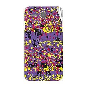 Garmor Designer Mobile Skin Sticker For Lenovo A706 - Mobile Sticker