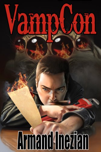 Armand Inezian's Contemporary Sci-Fi VampCon is Today's Kindle Fire at KND eBook of The Day – 4.7 Stars!