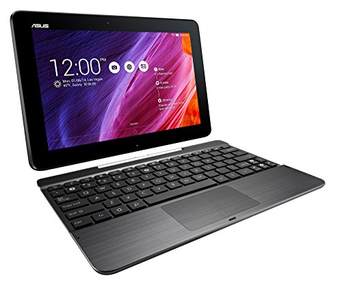 Asus Eee Pad Transformer TF103C-A1, 10.1″ (1280×800), Z3745 1.33GHz, 1GB, 16GB, Android 4.0 KitKat, BT, 2 Webcams, w/ Keyboard Dock(Black) (Certified Refurbished)