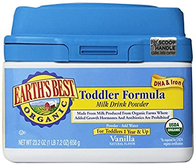 Earth's Best Organic Toddler Formula, 23.2 Ounce by Earth's Best
