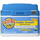 Earth's Best Organic, Toddler Formula, Vanilla, 23.2 Ounce
