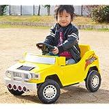 【電動乗用ラジコン】MINI SUV ハマータイプ ブラック