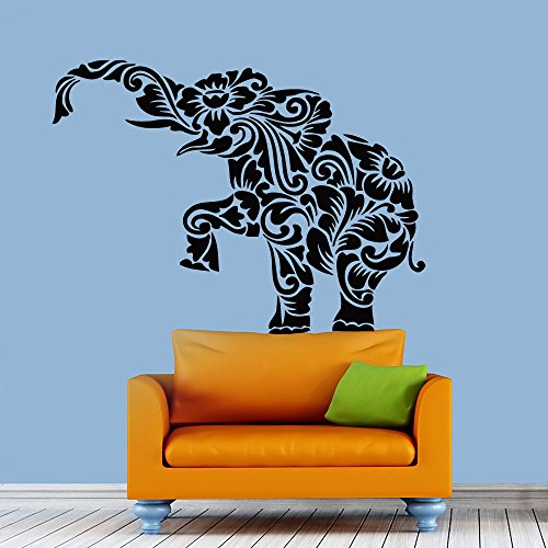 Wall Decal Vinyl Sticker Abstract Elephant Baby Art Design Room Nice Picture Decor Hall Wall Chu1141 front-141449