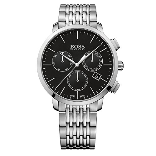 Hugo Boss Malla Me Up Men's Chronograph Analog Business Cuarzo: Batería Reloj 1513267