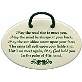 May the road rise to meet you, May the wind be always at your back, May the sun shine warm upon your face; The rain falls soft upon your fields and, Until we meet again, May God hold you In the...