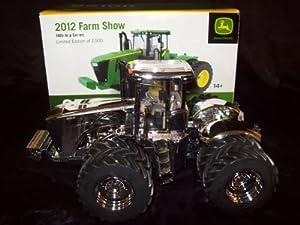 Buy CHROME John Deere JD 9510R 4WD Farm Progress Show Tractor 2012 Gold 1 32 by ERTL