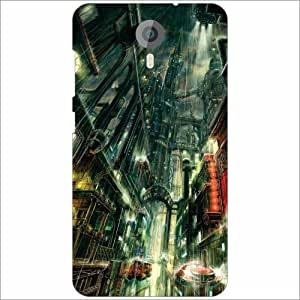 Micromax Canvas Xpress 2 E313 Back Cover - Silicon Rain Designer Cases