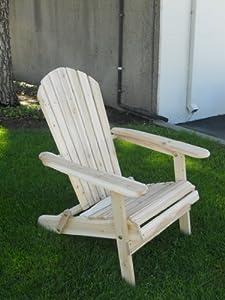 Amazon Com Living Accents Folding Adirondack Chair