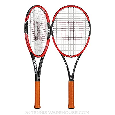 Wilson Pro Staff 97 Tennis Racquet (Red)