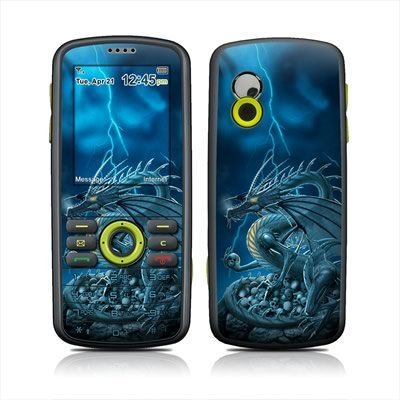 Abolisher Blue Dragon Design Protective Skin Decal Sticker for Samsung Gravity SGH-T459 Cell Phone