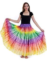 Shop Hatke Now Latest 2017 Jaipuri Multicolor Fashionable Printed Cotton Skirt 111