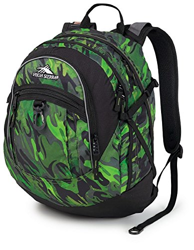High Sierra Fat Boy Backpack,Cognito/Black front-940995