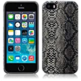 Terrapin PU Leather Back Case for iPhone 5S - Snakeskinby TERRAPIN