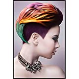 Shopolica Beauty Salon Spa Hair Style Poster (Girls-Hair-style-3036)