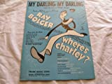 img - for MY DARLING MY DARLING CY FEUER 1948 SHEET MUSIC FOLDER 447 SHEET MUSIC book / textbook / text book