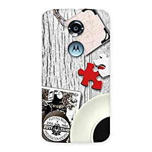 Enticing Vintage Style Multicolor Back Case Cover for Moto X 2nd Gen