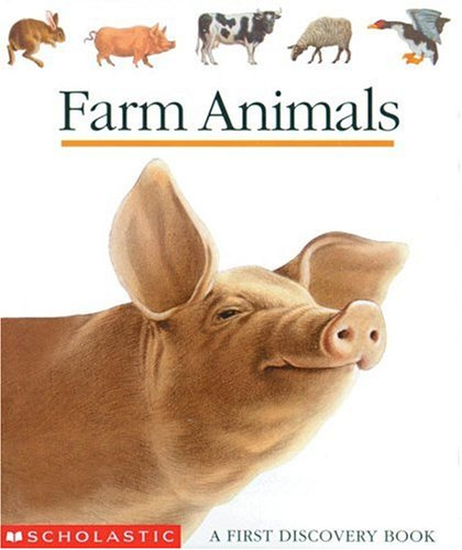 Farm Animals, GALLIMARD JEUNESSE, SYLVAINE PEROLS