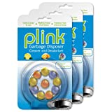 Plink Garbage Disposal Cleaner and Deodorizer, Multi Scent Pack, Value Pack of 30