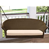 Darby 4-ft. Resin Wicker Porch Swing