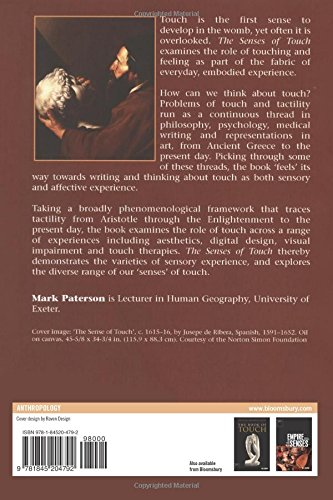 The Senses of Touch: Haptics, Affects and Technologies (Senses and Sensibilities)