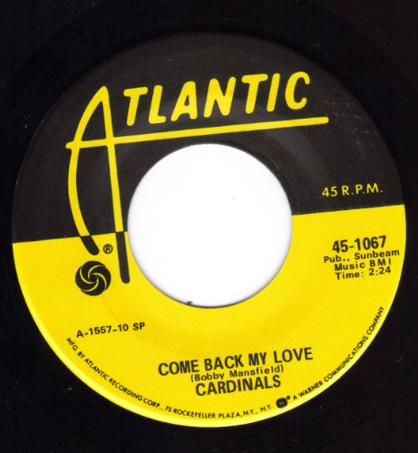 Come Back My Love/Two Things I Love (Nm 45 Rpm)