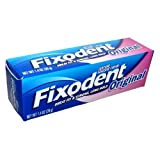 Fixodent Denture Adhesives Cream, Original 40 g (Pack of 6)