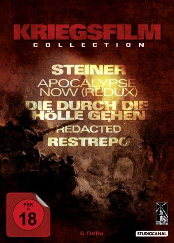 Kriegsfilm Collection: Steiner / Apocalypse Now Redux / Die durch die Hölle gehen / u.a. [5 DVDs]