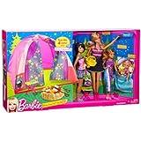 Barbie Family Tent Buildup & 4-Doll Play Set