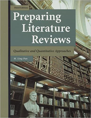 book cover: preparing literature reviews