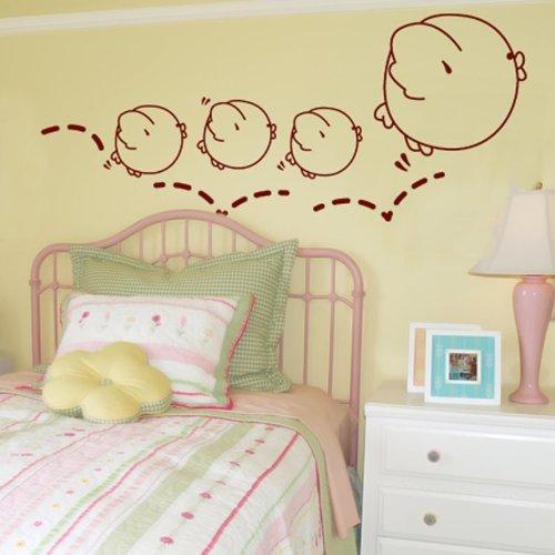 Small Jumpers -Adesivi Murali -Wall Stickers per la decorazione della casa e della cameretta