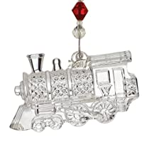 Waterford Crystal Annual Train Series Ornament 2011 Train Engine 1St In Series
