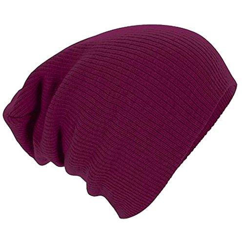 century-star-slouch-soft-winter-fashion-solid-beanie-cap-for-men-women-christmas-burgundy