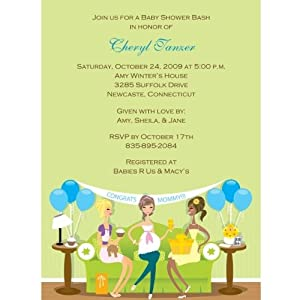 baby shower get together baby shower invitations set of