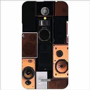 XOLO Omega 5.5 Back Cover - Silicon Cassette Designer Cases