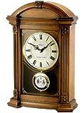Bulova B7653 Allerton Old World Clock, Walnut Finish