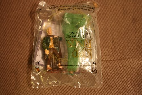 Merry (Meriadoc Brandybuck) the Hobbit Figure - 2001 Burger King The Lord of the Rings: The Fellowship of the Ring Series