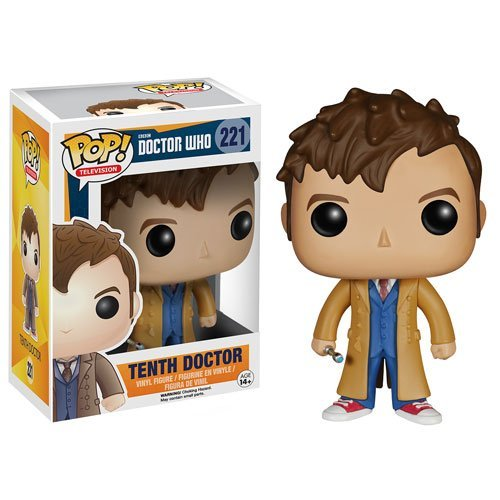 Doctor Who 10th Doctor Pop! Vinyl Figure - 1