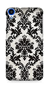 Amez designer printed 3d premium high quality back case cover for HTC Desire 820 (Pattern 12)