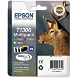 Epson C13T13064010 - T1306 Multipack - Print cartridge - 1 x yellow, cyan, magenta